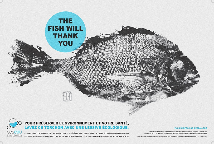 Les torchons Ceseau : « The fish will thank you » !